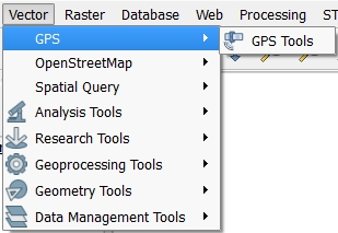 Downloading GPS data from QGIS